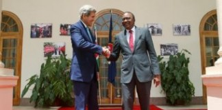 John Kerry In Kenya To Mend Relations