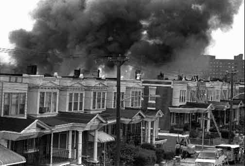 30 Years Ago, Philadelphia Police Dropped A Bomb On A Black Liberation Group