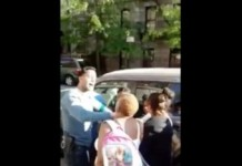 NYPD Officers Attempt to Arrest 14-Year-Old Girl- Community Doesn't Allow It