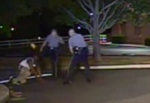 The War Continues: Video Shows White Officer Kicking Black Man In Face