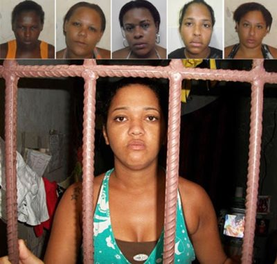 The Imprisoned Woman In Brazil Is Young, Black And With Low Education