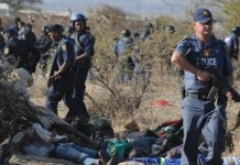 Inquiry Blames South African Police In Massacre Of Miners At Marikana