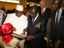 President Mugabe Salutes African Support