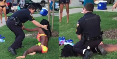 Racist Thug Who Assaulted Black Teens At Pool Party Resigns