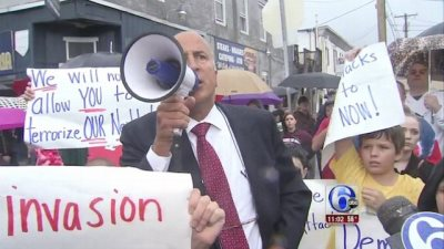 """""""White Lives Matter"""" Rally Held In South Philadelphia, Local Councilman Attends"""