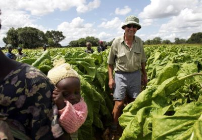 Zimbabwean Soldier Moves To Evict White Farmer