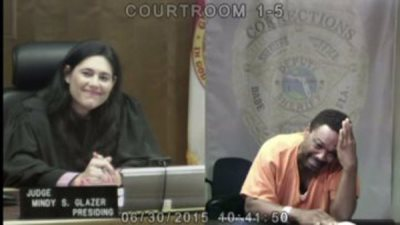 Burglary Suspect Breaks Down Crying After Judge Recognizes Him As Former Classmate And Friend