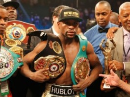 Floyd Mayweather Stripped Of Title He Won Against Pacquiao