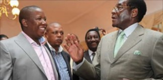 Malema Backs President Mugabe