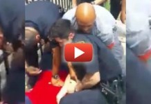 WATCH: NYPD Thug Picks A Fight With A Man. It Was Almost Eric Garner All Over Again