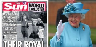Nazi Queen: Home Movies Show Queen Elizabeth Performing Nazi Salute