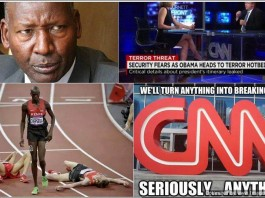 Kenya #SomeoneTellCNN ... Get Outta Here!