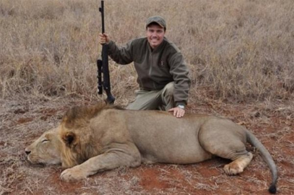 Meet The 7-Year-Old American Who Is Murdering Lions In Africa