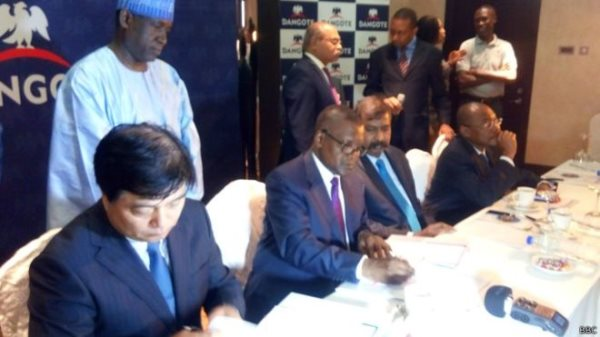 China Signs Deal With Africa's Richest Man, Aliko Dangote