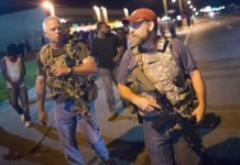Armed White Supremacist Turn Up At Michael Brown Protests In Ferguson