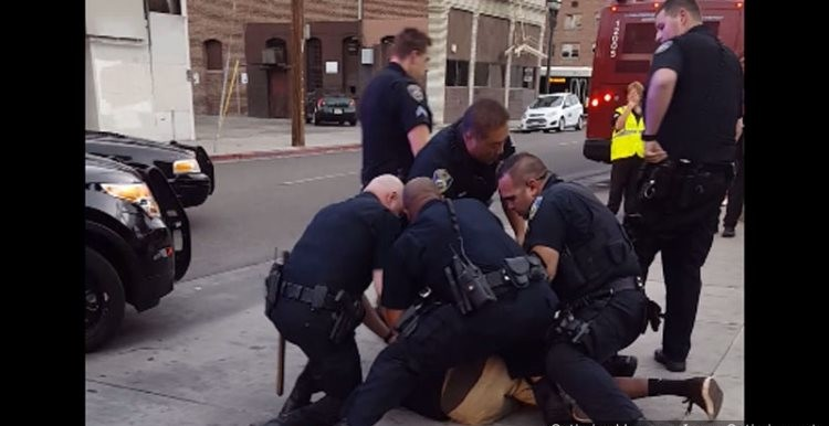 Video Shows White California Cops Savagely Assaulting Teen