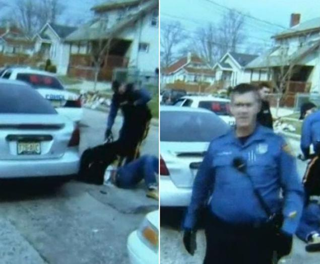 Police Sic Dog On Handcuffed Unconscious Man's Face As They Beat Him To Death