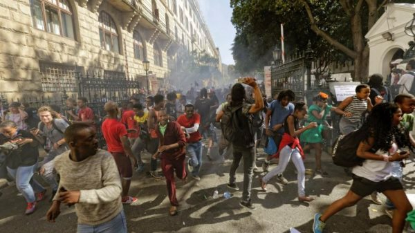 South Africa On The Brink: Police Clash With Students In Largest Protest Since Apartheid