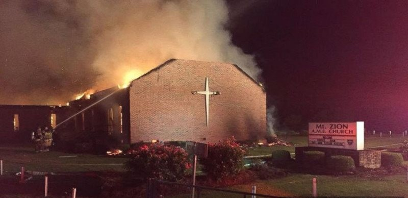 Terrorism Alert: Cops Dither As 6 Black Churches Are Torched In St. Louis