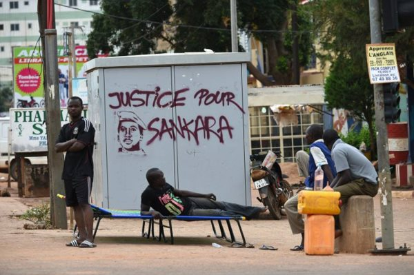 Sankara's Body Was 'Riddled With Bullets'