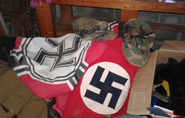 Nazi Flag, Guns And Ammunition Discovered In House In Cape Town, South Africa