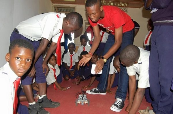 At This Nigerian School, All They Do Is Build Robots