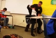 Orphan Teen Assaulted In Class By White Thug Cop Still Facing Assault Charges
