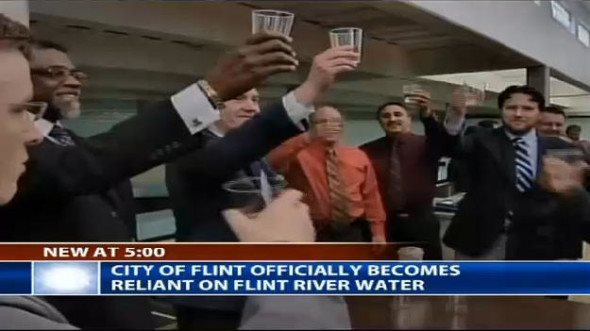 "Flint Water Crisis Is A ""Racist Genocide"""