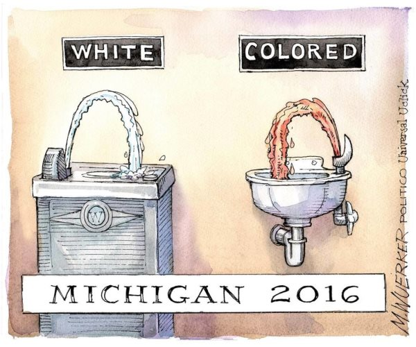 Global Outrage After Majority Black City Of Flint Is Poisoned By Lead