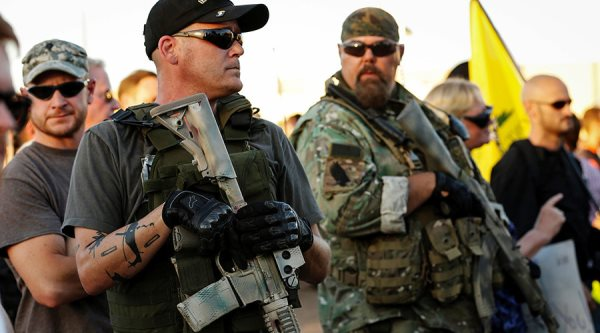 Hundreds Of Armed Right-Wing Terrorists Take Over Federal Building In Oregon