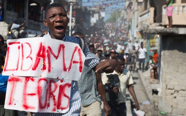 Why Haitians Are Chanting 'Down with Obama'