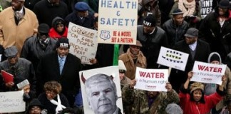 Mass Demonstration In Flint: 'It's Time To Fight Back'