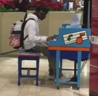 Self-Taught Teenage Pianist Goes Viral After Playing Shopping Mall