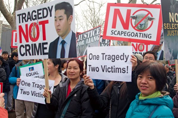 Thousands Of Asians Rally In Support Of Killer Cop Who Murdered Akai Gurley
