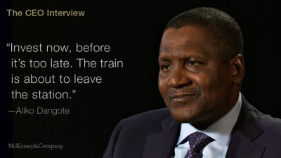 Dangote Group On The Economic Opportunities In Africa