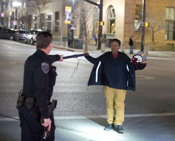 Salt Lake City Cops Pump Four Shots Into The Chest Of A Teen Holding A Broomstick
