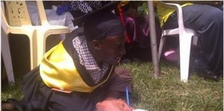 Physically-Challenged Man Born Without Arms Graduates From Ugandan University