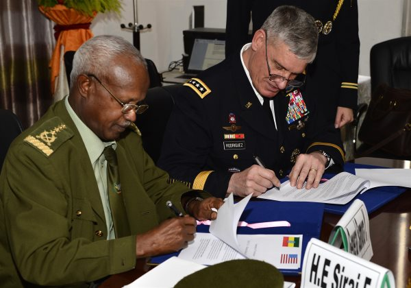 US., Ethiopia Sign New Agreement To Enhance Defense And Security Partnership