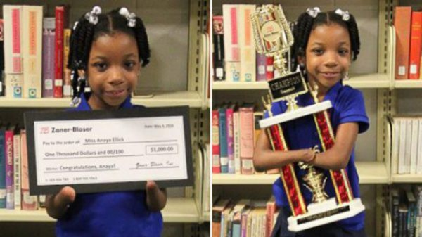 Amazing! 7-Year-Old Girl Born Without Hands Wins National Handwriting Competition!