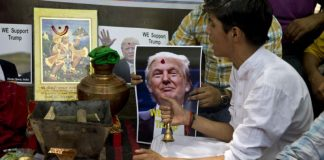These Hindus In India Are Calling Donald Trump The 'Lone Protector Of Mankind'