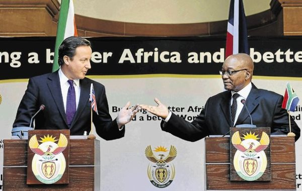 Zuma's Government Working With British Military To Stay In Power