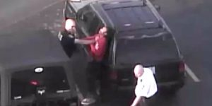 White Thug Cop Brutally Beats Teen For Riding Bike — Then Charges Her With Assault
