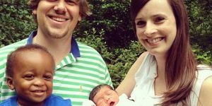 White Saviours Give Birth To Black Triplets After 'Adopting' Leftover Embryos