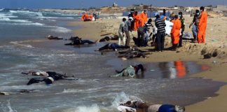 Dozens Of Drowned African Refugees Wash Up On Libyan Coast