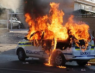 Violent Protests Rock South Africa's Capital Tshwane Ahead Of Local Elections