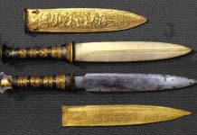 New Research Shows Tutankhamun's Dagger Was Made With Iron From A Meteorite