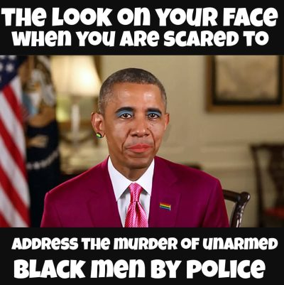 Police Killings Not Black And Latino Problem; It's American Issue -- Obama