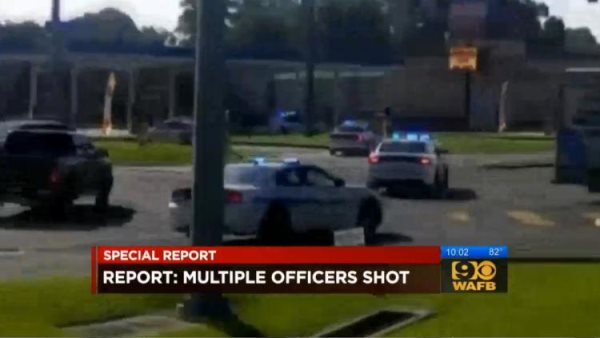 Police Officer Shot In Baton Rouge