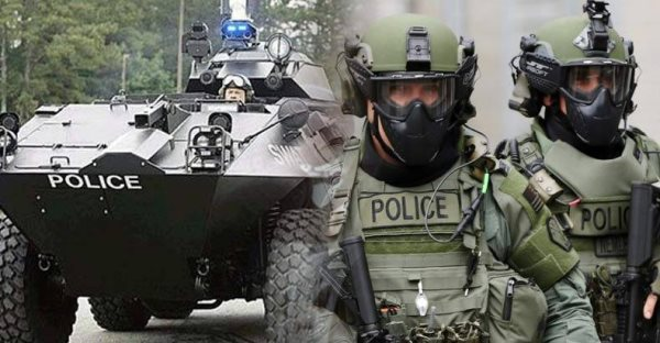 Obama White House Moves To Reauthorize Military Equipment For Killer Cops