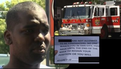 Black Firefighter Loses Home To Fire Days After Receiving Racist Threat